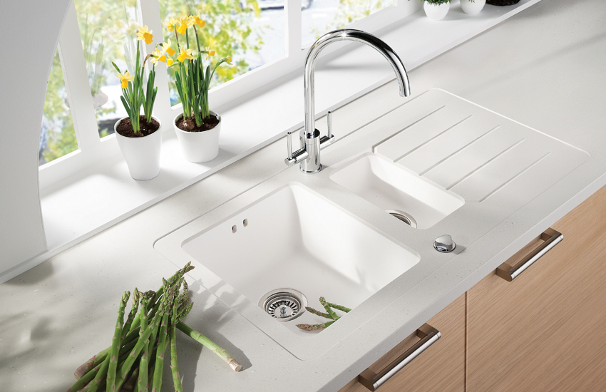 types of kitchen sinks morning tea