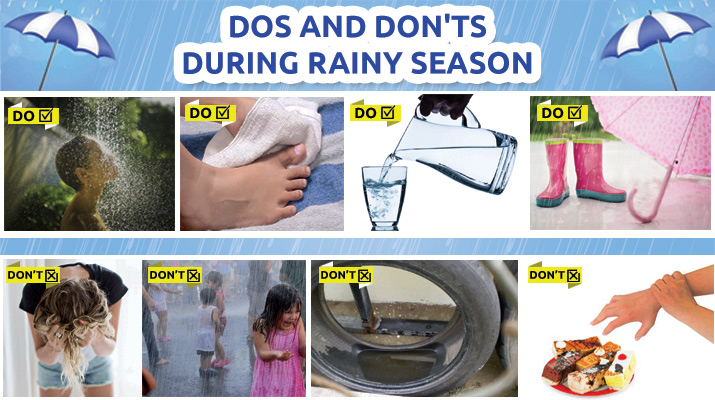 how to take care of shoes in rainy season